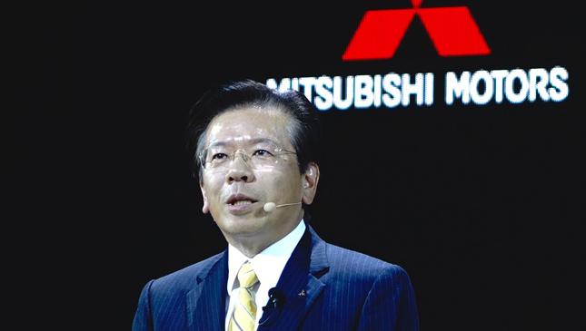 Mitsubishi president Tetsuro Aikawa