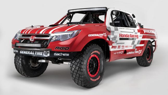 Honda Ridgeline Race Truck