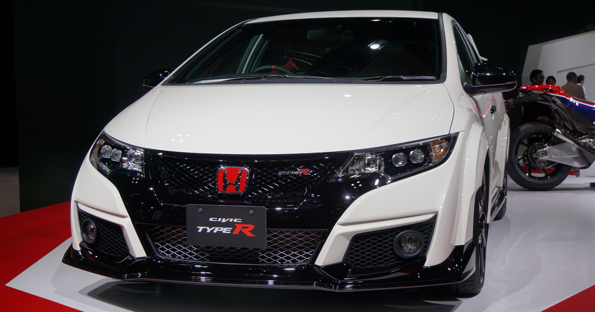 Japanese Car Brands >> 12 images: The Honda Civic Type R is crazy, beautiful