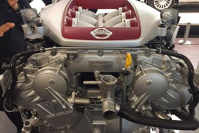 Takumi Kurosawa's Nissan GT-R engine
