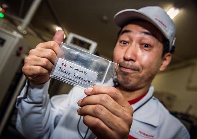 Nissan GT-R engine-builder Takumi Kurosawa