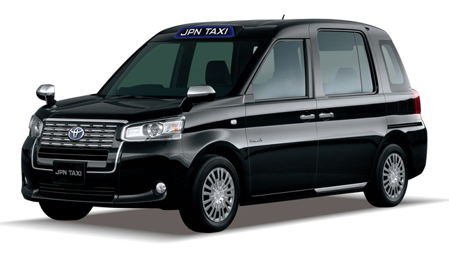 Toyota Japan taxi