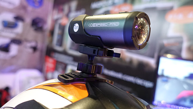 iON Speed-Pro camera for car, bike and motorcycle