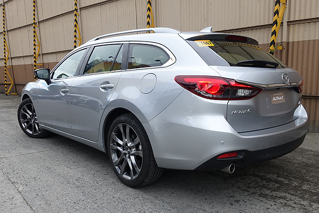 Mazda 6 Wagon review