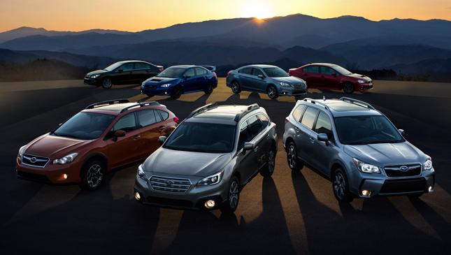 Subaru Christmas promo
