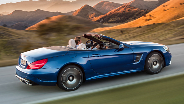 Mercedes-Benz SL facelift