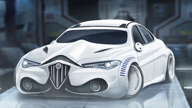 Star Wars as cars
