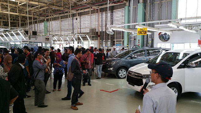 Toyota Innova Indonesia production