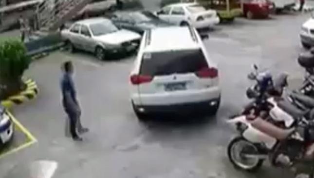 Mitsubishi Montero Sport viral video