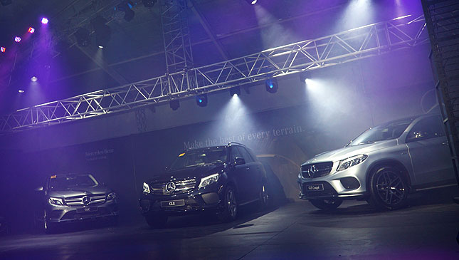 Mercedes-Benz GLC, GLE, GLE Coupe