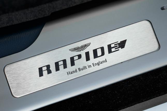 Aston Martin Rapide electric concept