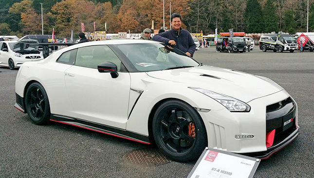 Nissan Philippines Toti Zara With The GT R