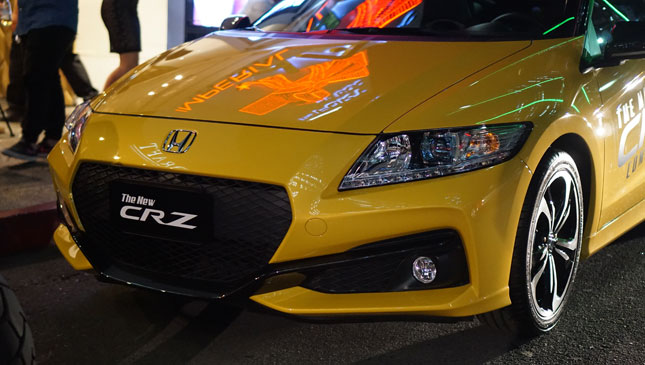 Honda CR-Z update