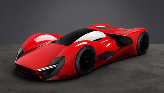Ferrari Parabolica concept
