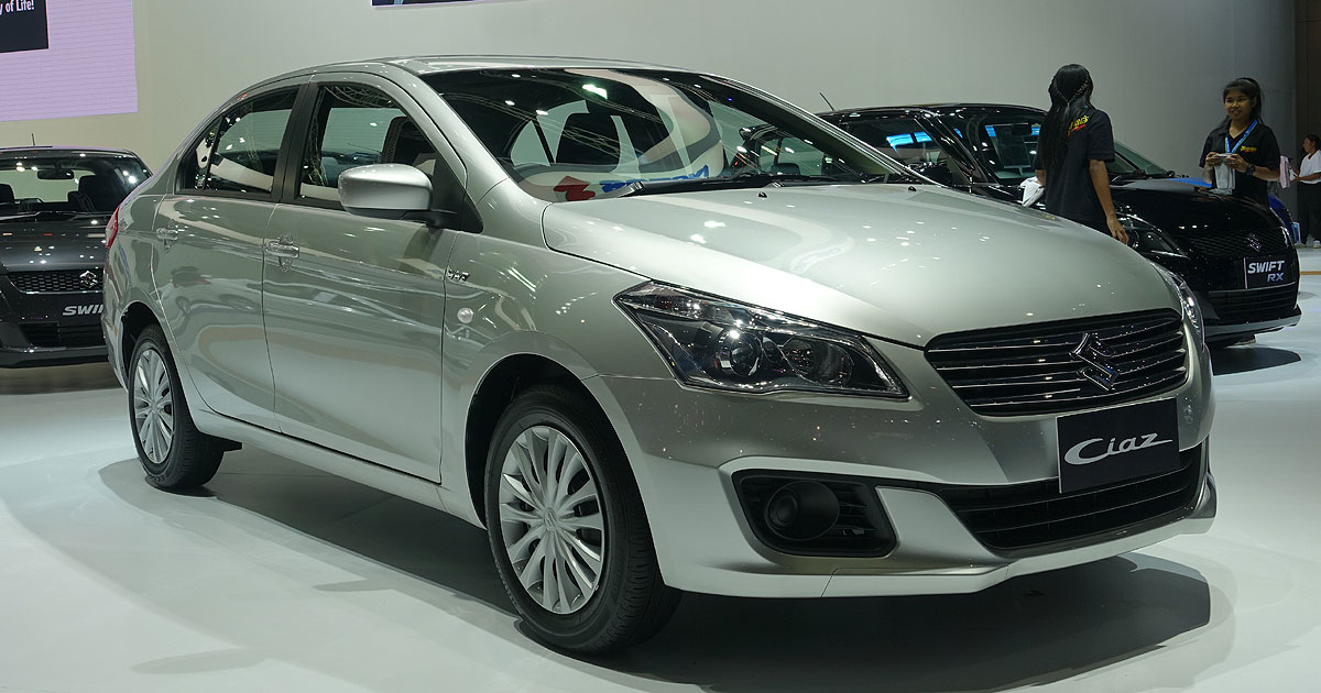Confirmed Suzuki Ciaz Subcompact Coming To Ph