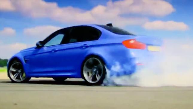 BMW M3 on Top Gear