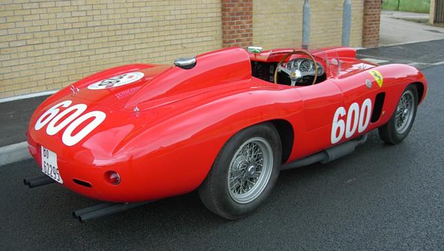 Fangio's Ferrari