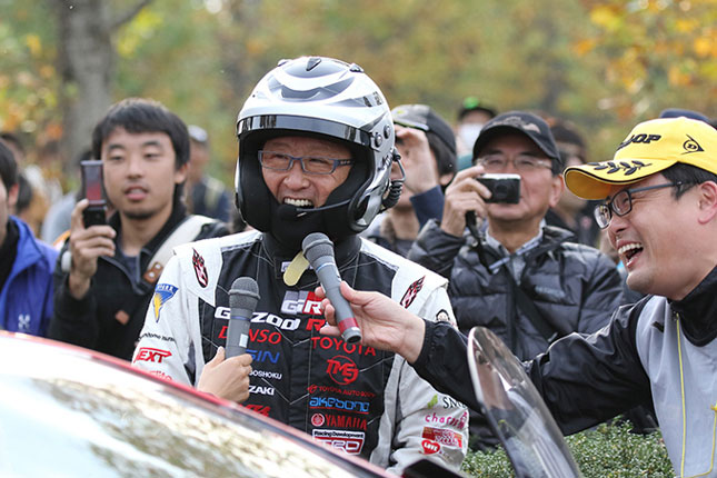 Toyota Japanese rally