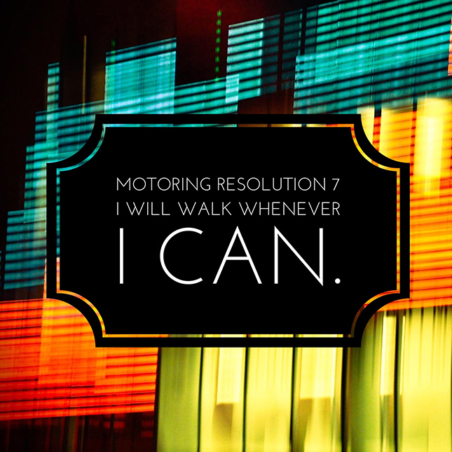 New Year's motoring resolutions