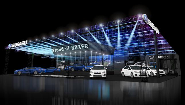 Subaru Tokyo Auto Salon Display