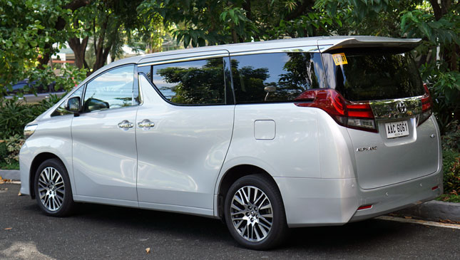 Review Toyota Alphard Top Gear Philippines
