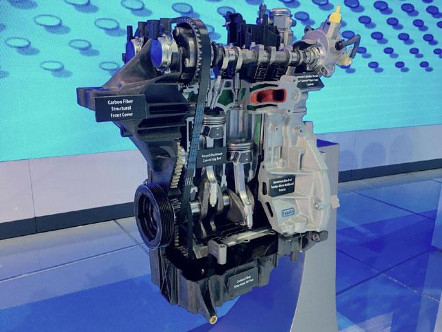 Ford EcoBoost carbon fiber