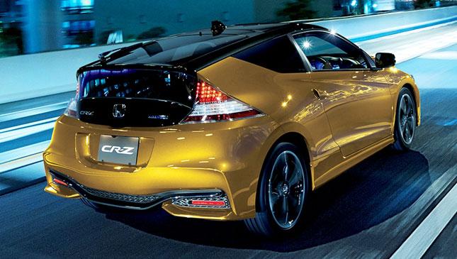 Honda CR-Z update