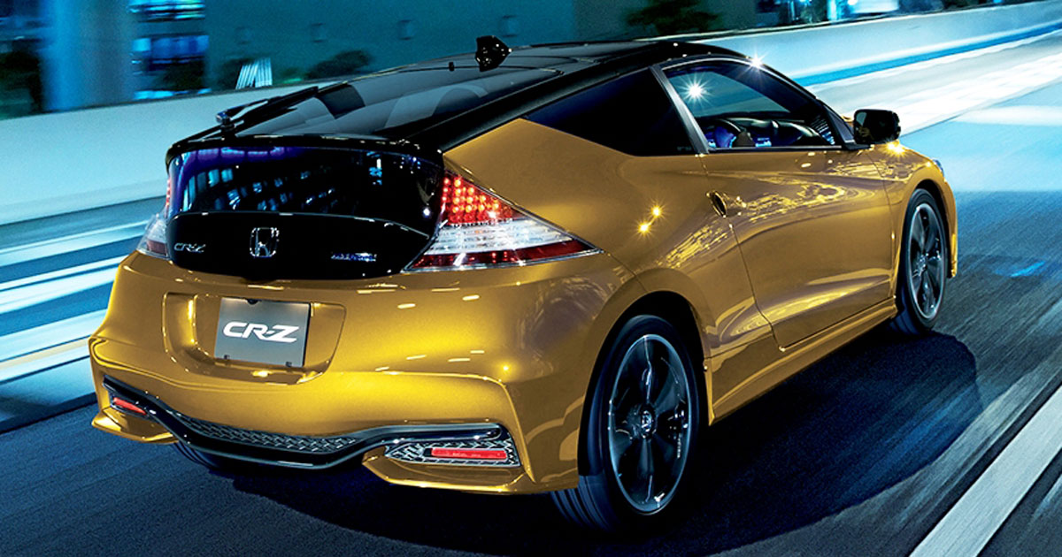 You Can Now The Refreshed Honda Cr Z