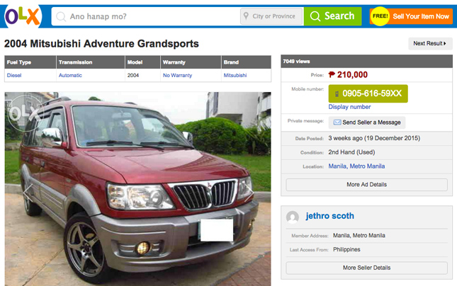 Another Victim Falls For Online Classifieds Scam