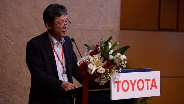 Toyota presidency turnover
