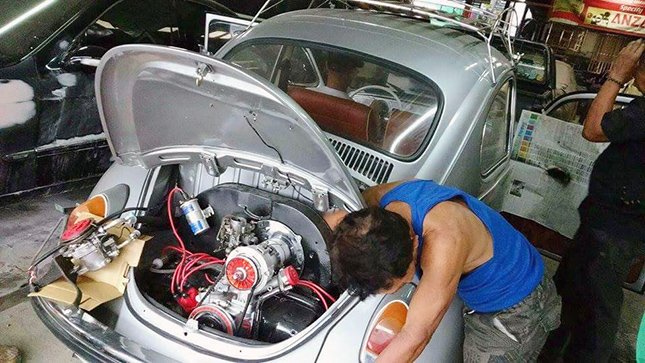 Auto Repair Shop For Sale Philippines: This Beetle Was Sold By Its Owner After An Accident; His