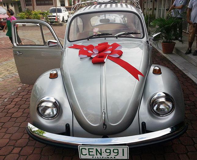 Restored Volkswagen Beetle