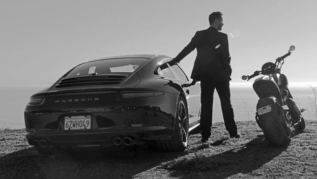 Porsche 911  - Keanu Reeves