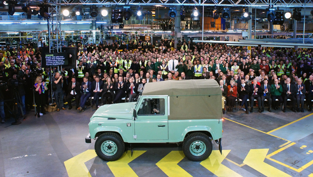 Final Land Rover Defender