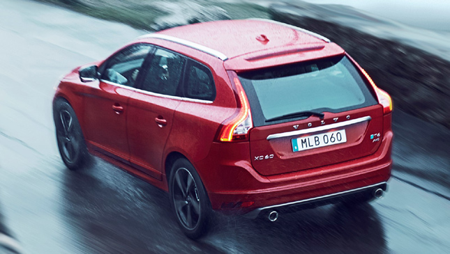 Volvo XC60 with Polestar performance option