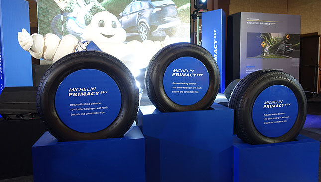 Michelin Primacy SUV tires