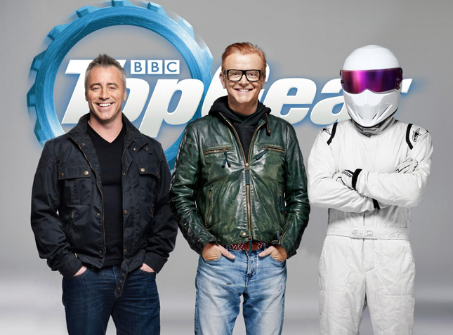 New Top Gear host Matt LeBlanc