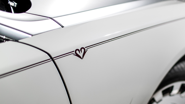 Rolls-Royce Eternal Love collection