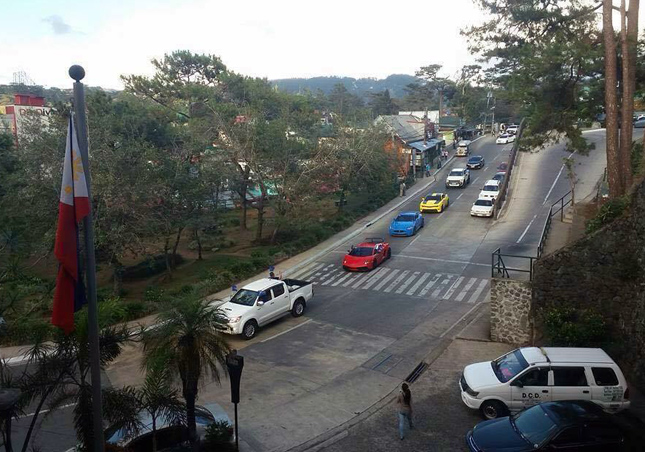 Baguio City traffic