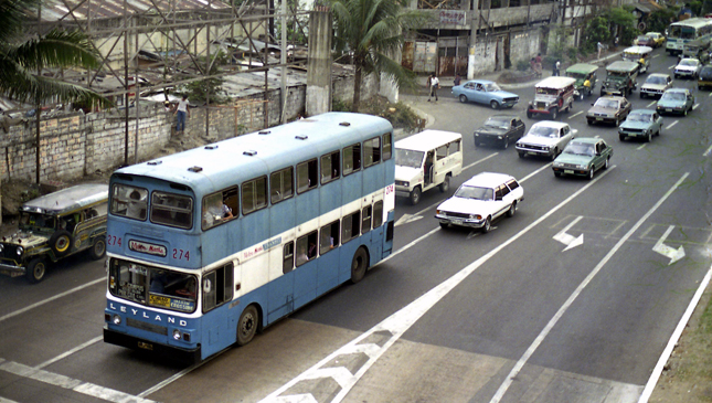 Philippine motoring in 1986