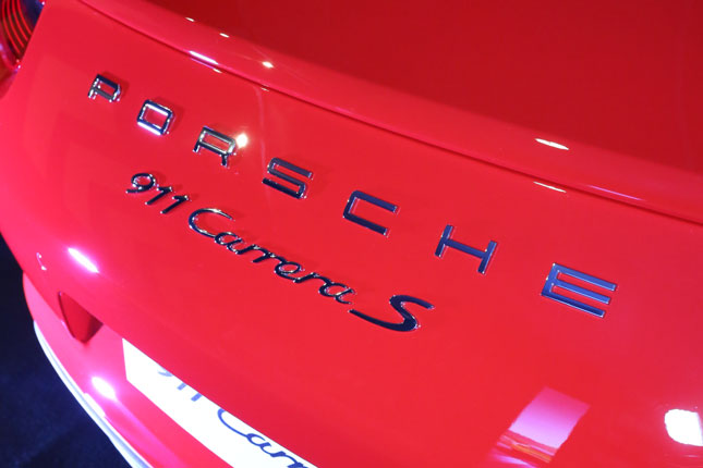 Porsche 911 Carrera S in the Philippines