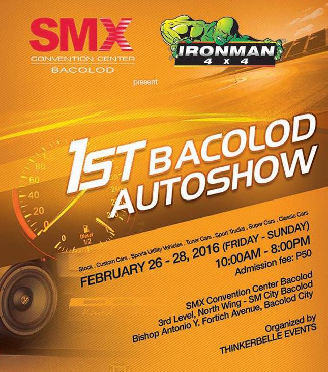 1st Bacolod Auto Show