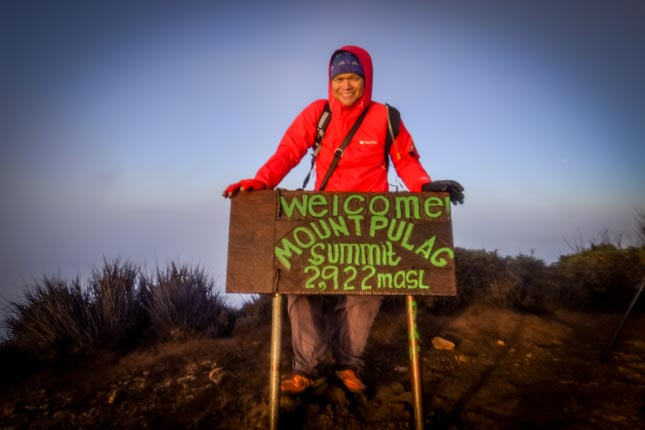 Pulag summit