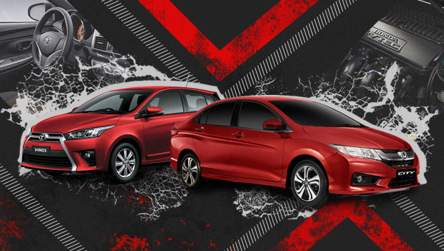 Honda City vs. Toyota Yaris