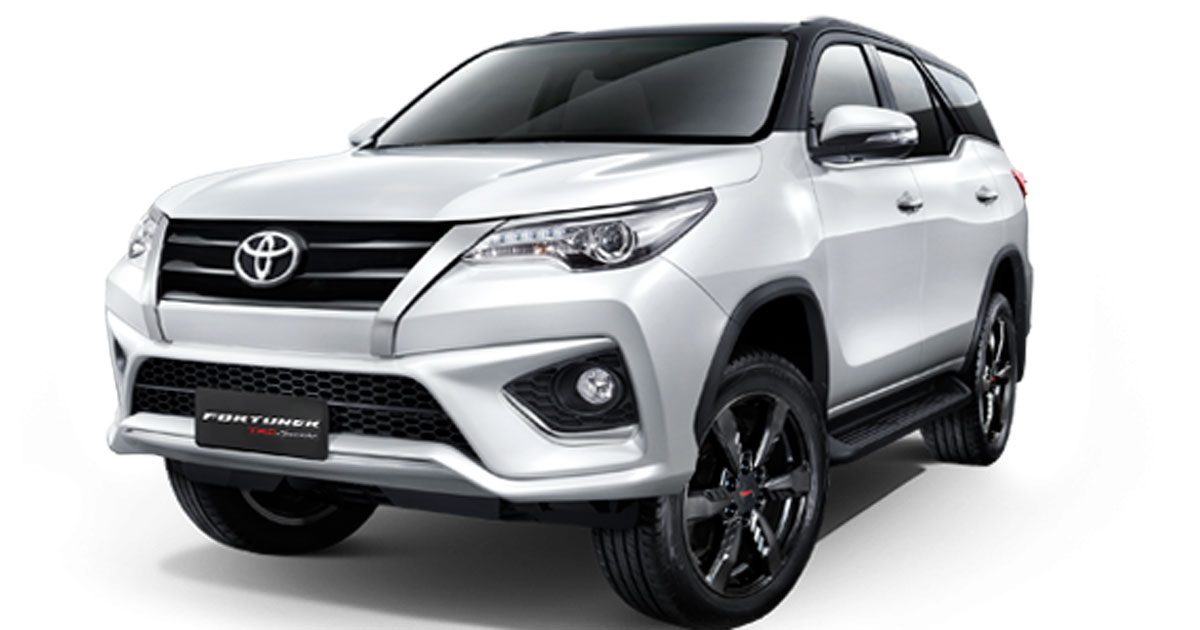 Check Out The Toyota Fortuner Trd Sportivo Version Car