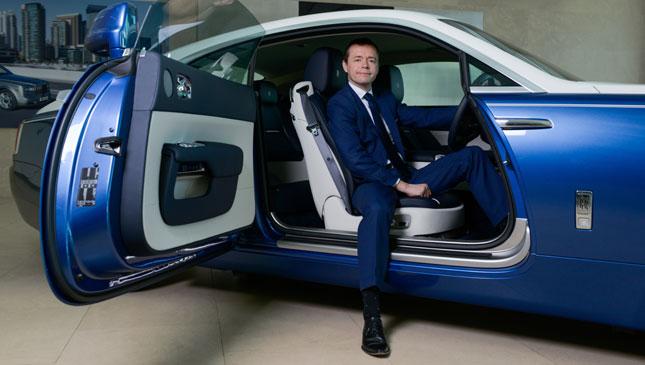Rolls-Royce's Fintan Knight