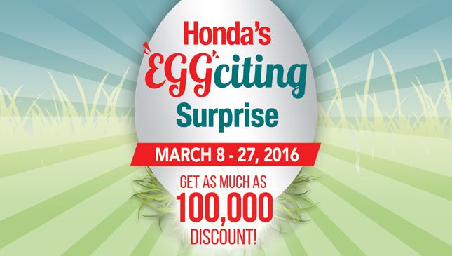 Honda Eggciting Surprise promo