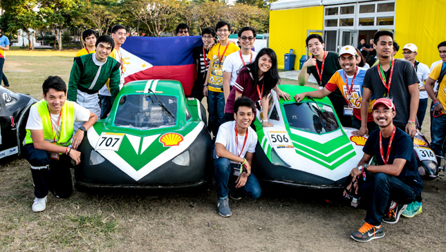 Shell Eco-Marathon Asia contestants