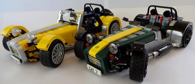 Caterham Seven Lego set