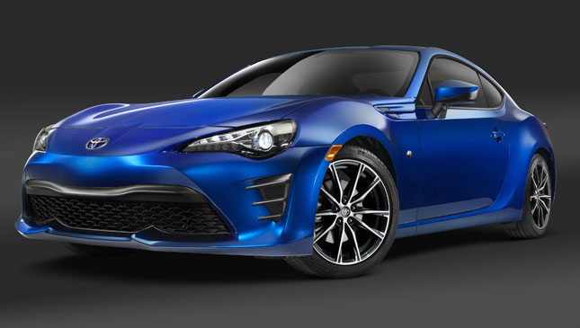 Toyota 86 refresh